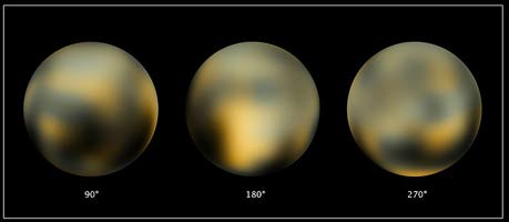 Hubble Discovers Moon Orbiting the Dwarf Planet   NASA