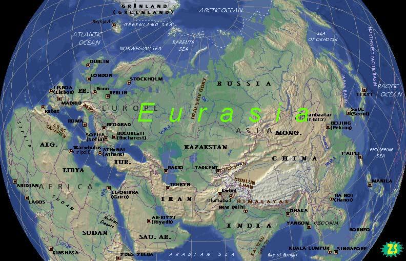 Самый крупный материк на земле